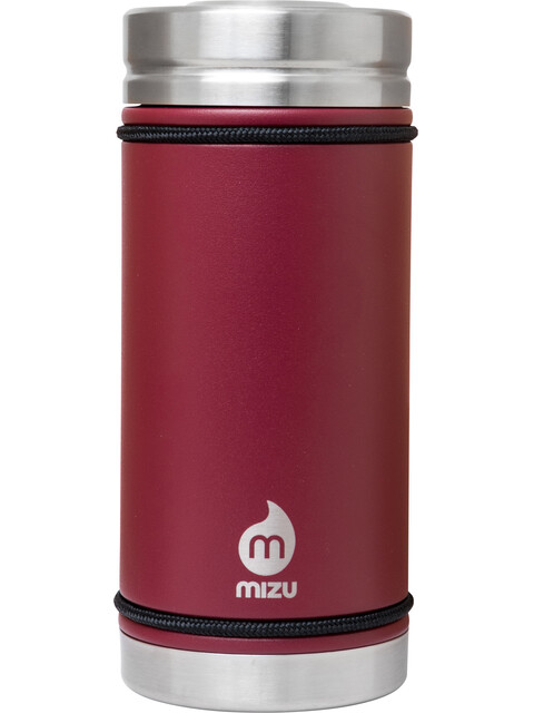MIZU V5 Insulated Bottle with V-Lid 500ml Enduro Burgundy